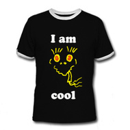 Mens Slim Contrast Tee - T-Shirt einfach: COOL